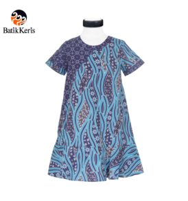 rok terusan anak batik motif sumulur katon kombinasi ceplik suminar