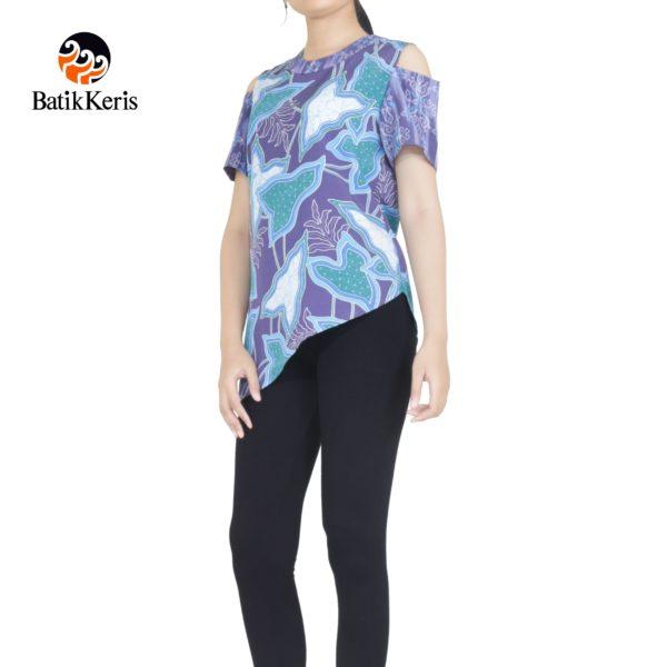 blouse batik keris motif ron lompong kombinasi harga batik keris