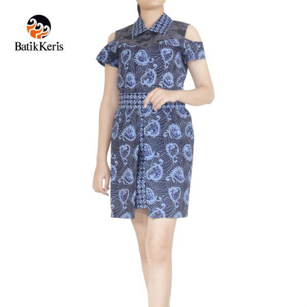 sackdress batik keris motif peisley kombinasi