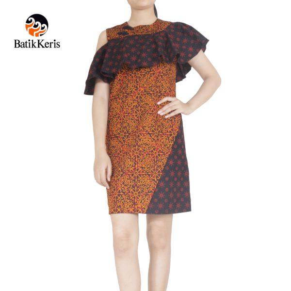 sackdress batik keris motif sekar kawung nitik kombinasi truntum
