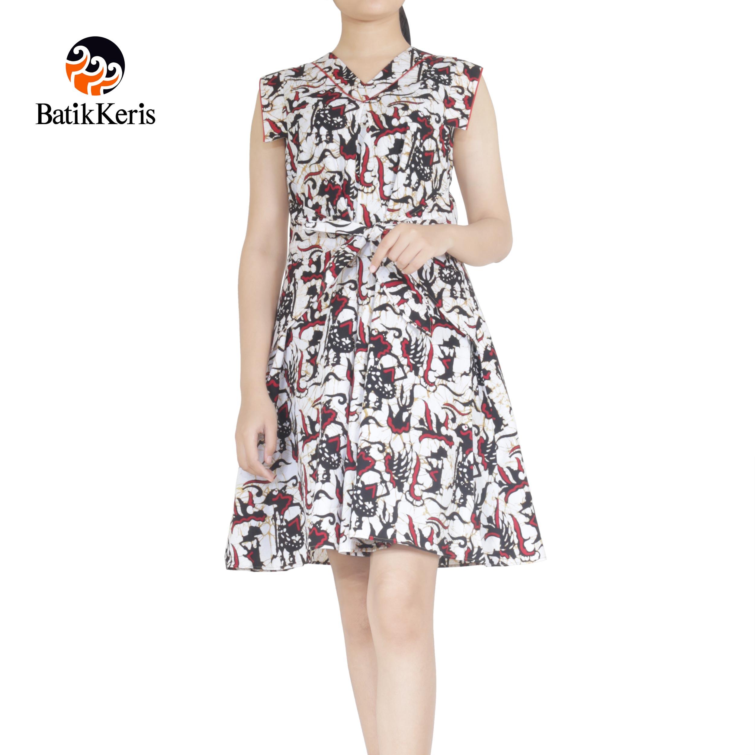 dress batik keris motif Noroyono batik cap