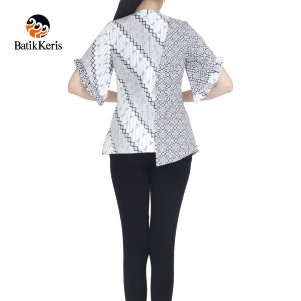blouse batik keris motif parang asri kombinasi truntum pepet