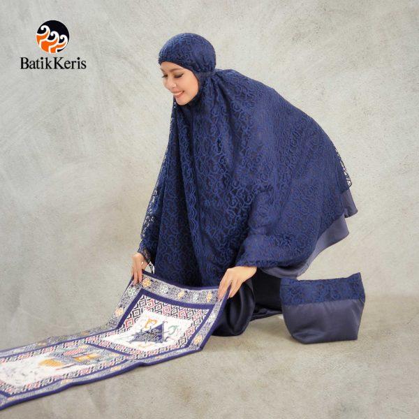 mukena batik keris