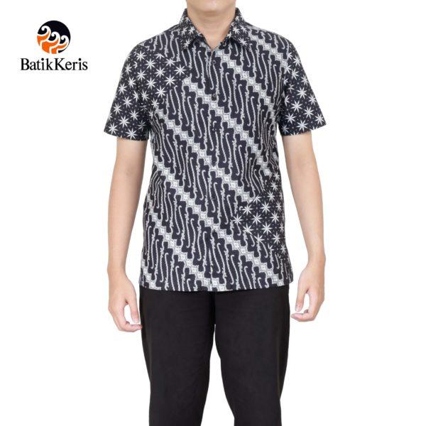 batik slimfit batik keris motif parang niti cendono kombinasi truntum
