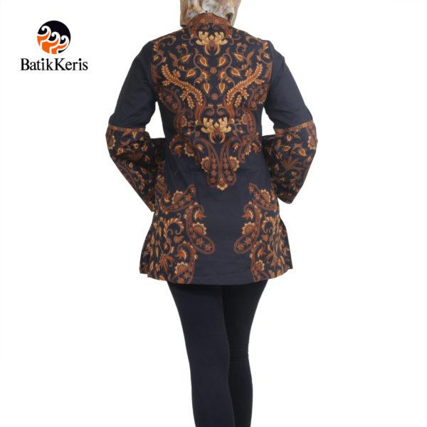 blouse lengan panjang motif andaru asih