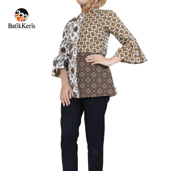 blouse muslim motif wahyu damarjati komb