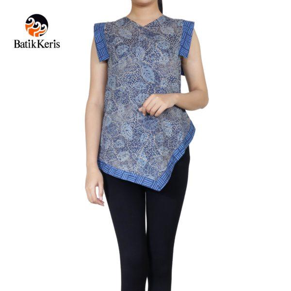 blouse batik motif ron sulur