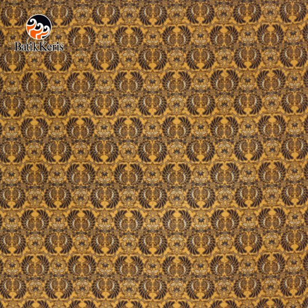 bahan batik motif merak kembar