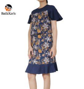 DRESS BATIK KERIS 007D7SD PUB8 SELO KEMBANG