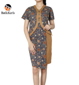 sackdress batik keris motif lung sekar angkoso