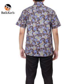 kemeja santai batik keris motif sekar niti raga