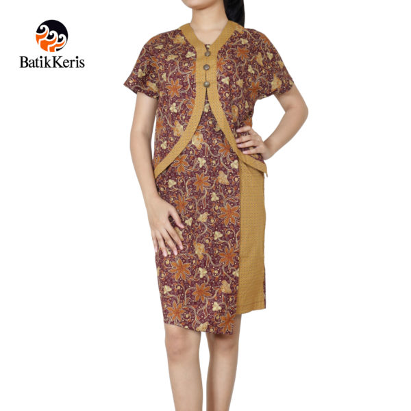 sackdress batik keris motif lung sekar angkoso