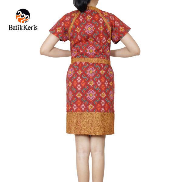 sackdress batik keris motif iromo warno