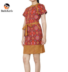 sackdress batik keris motif iromo warno
