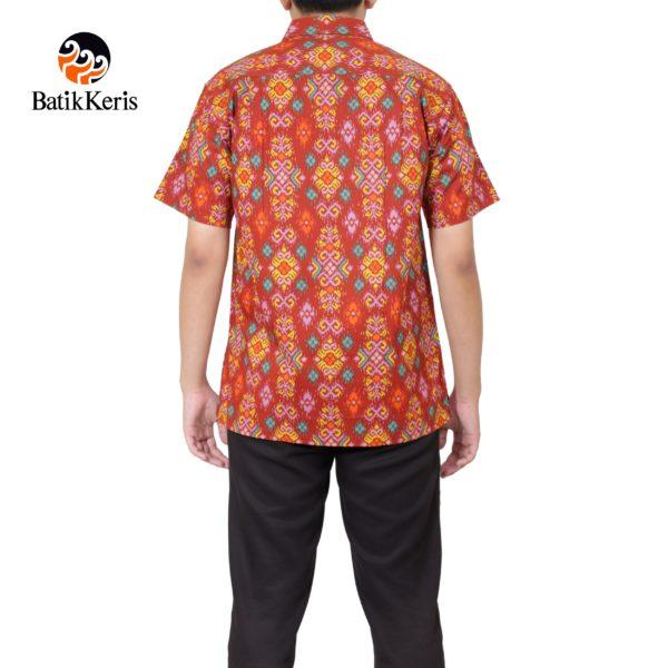 kemeja santai batik keris motif luhur prasojo