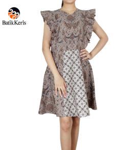 dress batik keris motif adi setyo