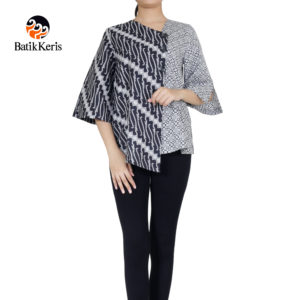 blouse batik keris motif parang niti cendono kombinasi truntum pepet