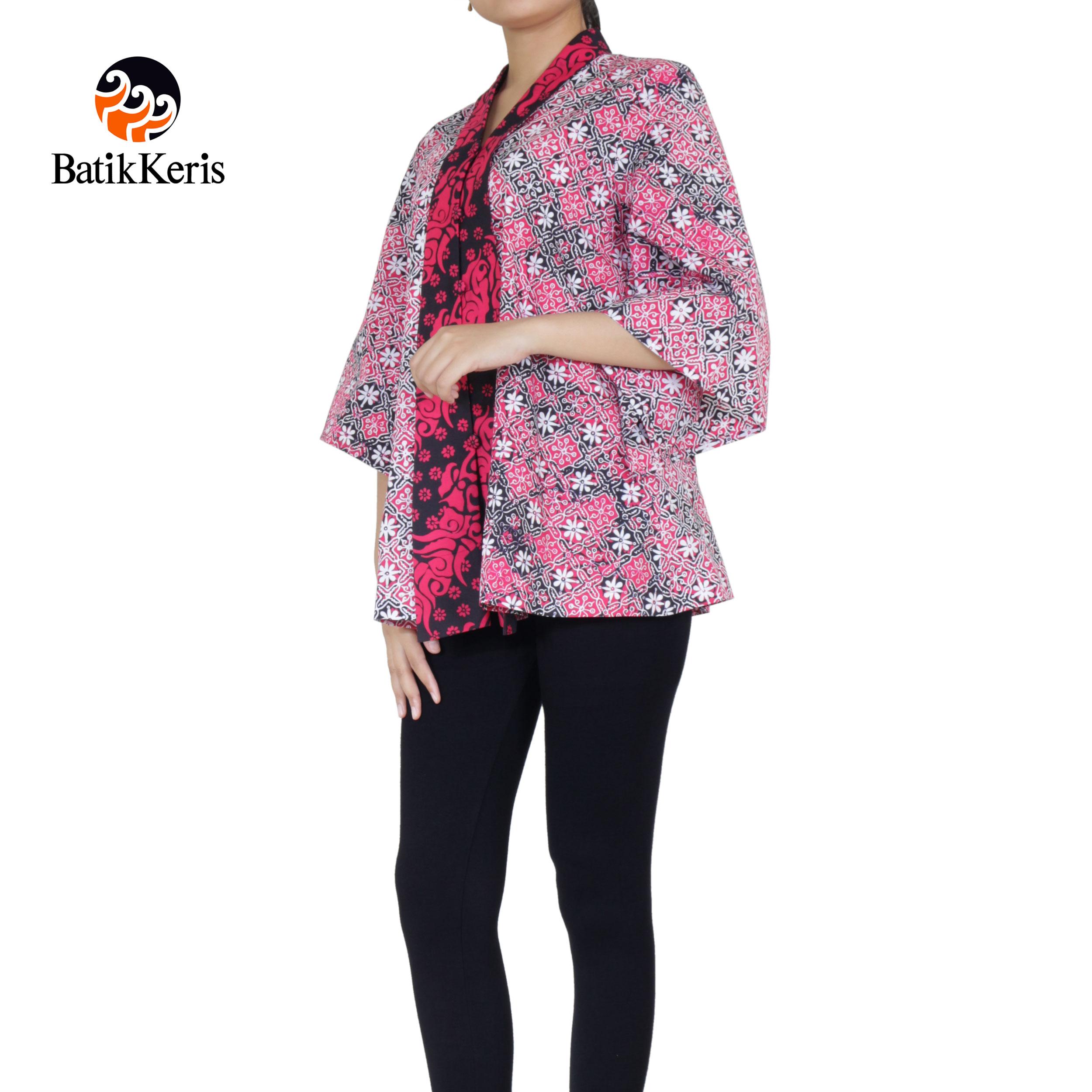Batik Keris Online » BLOUSE BATIK MOTIF SEKAR CEPLOK KOMBINASI MEGA ... 3174548eb4