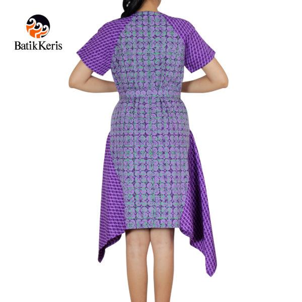 sackdress batik keris motif ceplok kawung komb batu pecah