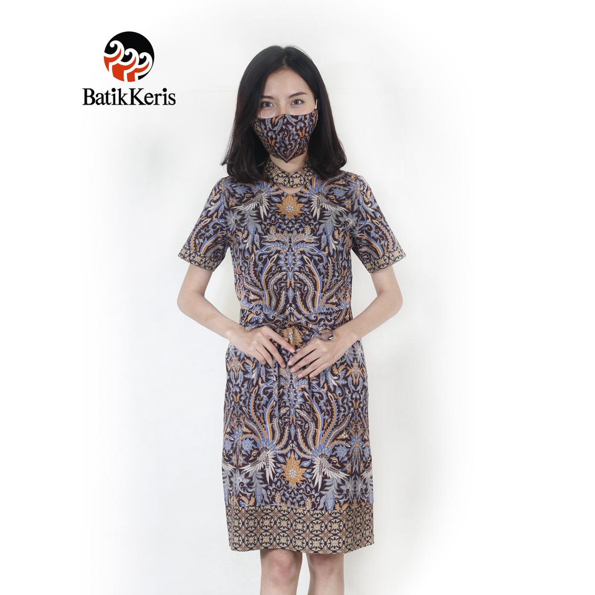 Kukilo Suminar Dress Coklat 1